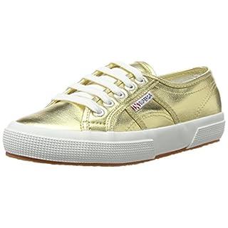 Superga Unisex-Erwachsene 2750-cotmetu Sneaker, Gold (174), 35 EU