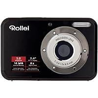 Rollei Compactline 52 Digitalkamera (5 Megapixel, 8-fach digital Zoom, 6,1 cm ( 2,4 Zoll ) Display ) schwarz