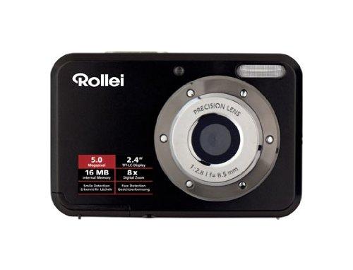 Rollei Compactline 52 Digitalkamera (5 Megapixel, 8-fach digital Zoom, 6,1 cm (...