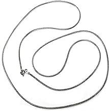 3c8d097295f8 Cadena plata Ley 925m 70 cm. cola de ratón lisa  AB3499