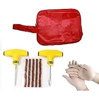 Kit de reparación de pinchos de neumáticos TYRE DOCTOR®, con herramientas suaves para colgar