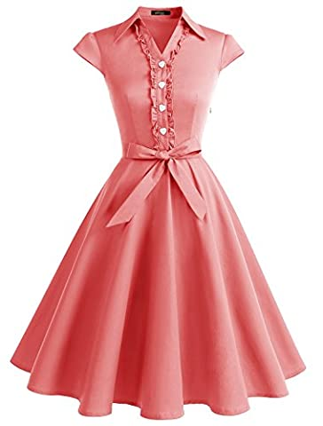 Audrey Hepburn Costumes - Wedtrend Vintage 1950's Audrey Hepburn pin-up Robe