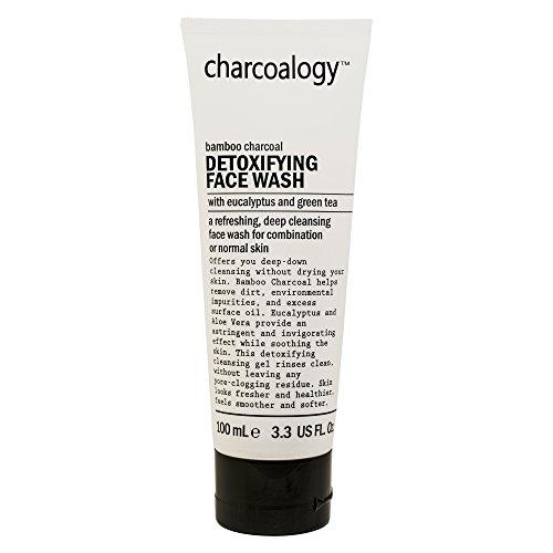 Charcoalogy Entgiftendes Gesichtswasser für Tiefenreinigung, 100 ml -