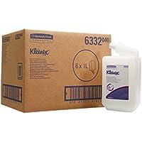 KLEENEX* Gel para Cuerpo y Cabello 6332-6 estuches x 1 litro, Blanco