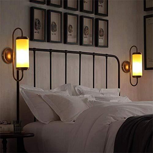 GCCI die Wirtschaft der Energie Lampe verstellbare Wand - einfache Balkon Schlafzimmer Moderne amerikanische Retro Land Persönlichkeit Leichtindustrie (Keine Wand Kerzenhalter: die Lichtquelle)
