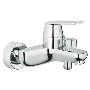 Grohe Eurosmart Cosmopolitan – Grifo para baño y ducha, cromado, montaje en pared, diseño alemán, fácil de limpiar. (Ref…