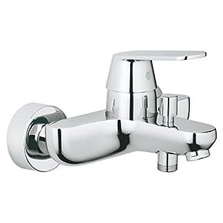 Grohe Eurosmart Cosmopolitan – Grifo para baño y ducha, cromado, montaje en pared, diseño alemán, fácil de limpiar. (Ref. 32831000)