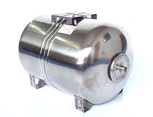 100 l Druckkessel, Membrankessel für Hauswasserwerk aus poliertem Edelstahl u. EPDM Membran. Druck- und Dichtheitsprüfung nach EN Normen !!!