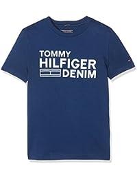 Tommy Hilfiger Boy's Ame Hilfiger CN Tee S/S T-Shirt