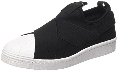 adidas Unisex Kids' Superstar Slipon Low-Top Sneakers, Black (Core Black), 6 6...