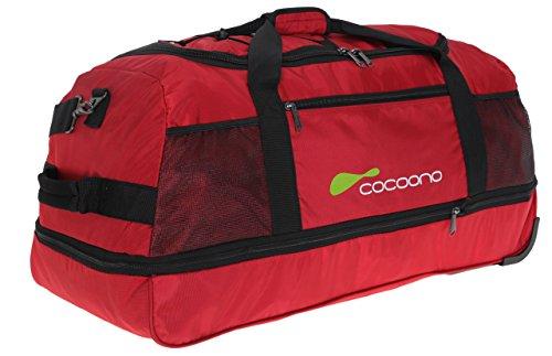 Cocoono Speed borsone di viaggio a ruote 81 cm nero rosso
