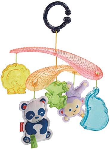 Fisher-Price DYW54 - Buggy Baby Mobile, Kinderwagen Zubehör mit Spielzeug zum Aufhängen, Spielzeug ab Geburt (Fisher Price Anzahl)