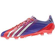 lowest price 58230 b2430 adidas f50 adizero trx fg chaussures de football homme violet rose messi  micoach inclus