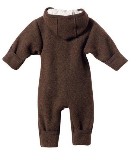 Disana Baby Walk Overall aus Bio Schurwolle kbT, haselnuss Gr. 86/92
