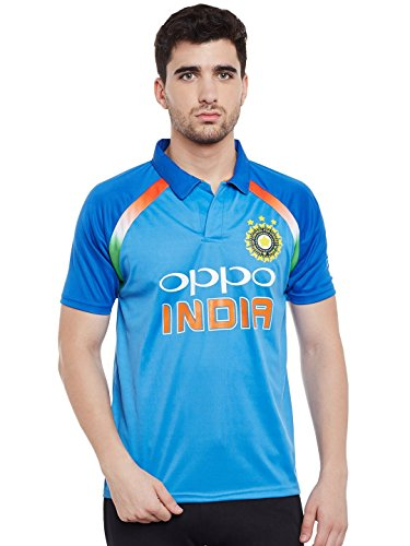 Sportyway ODI India Team Cricket Jersey,M(Blue)