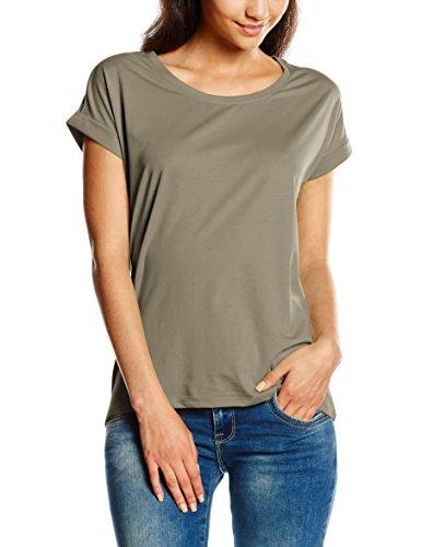 Vila Vidreamers Pure Noos, T-Shirt Femme Vert (Vetiver)