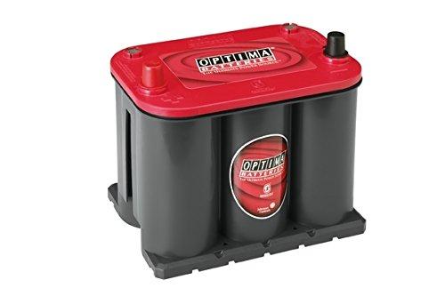 Optima Red Top Rt S 3.7 Batterie Démarrage Sprial Cell, 12V 44Ah 730 Amps (En)