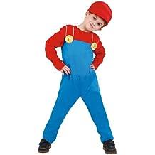 Guirca - Disfraz infantil de maquinista de tren (81876)