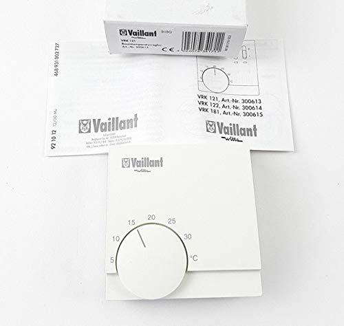 Vaillant Raumtemperaturregler VRK 121 Raumthermostat 4024074341711