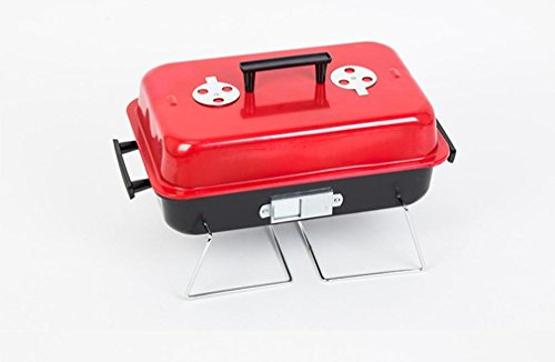 BBQER-A Portable Assemble BBQ Holzkohle Grill Tool Set mit Camping Cooking Easy Cleaning