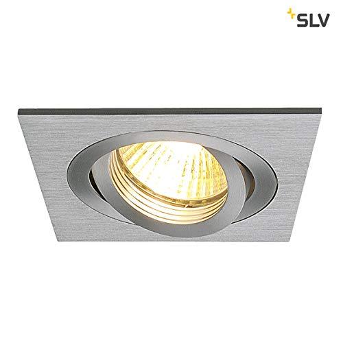 SLV NEW TRIA 1 Leuchte Indoor-Lampe Aluminium Silber Lampe innen, Innen-Lampe