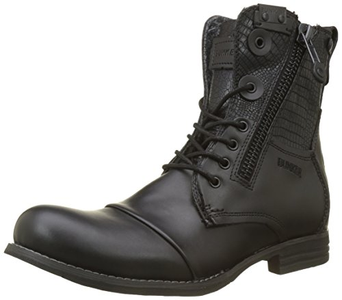 Por Bunker, Bottes Motardes Black Men