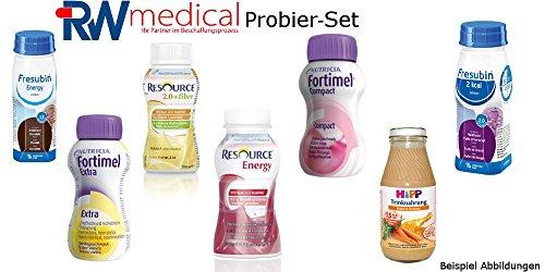 Trinknahrung Probier-Set 5 Flaschen RWmedical GmbH + Info-Broschüre