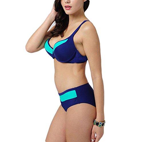Frau Buchstabieren Farbe Bikini-Badeanzug Große Yards Sowie Düngemittel Die Schlagfarbe Zu Erhöhen Green