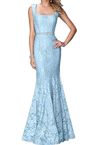 ivyd ressing Femme stiovoll Pointe Mermaid pierres robe robe ceinture Party Prom Lave-vaisselle robe robe du soir Bleu