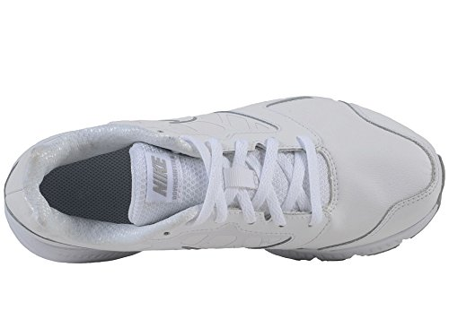Nike Downshifter 6 Ltr (Gs/Ps), Chaussures de Running Entrainement Garçon Blanc Cassé (White / White / Wolf Grey)