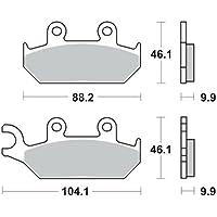 49H 83-87 hinten Bremsbacken TRW MCS955 150x25mm TYP 955 YAMAHA XT 600 L 43F