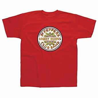 Lonely Hearts T-Shirt-Red-M