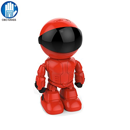 OBO HANDS 960P 1.3MP HD Drahtloser WI-FI IP Kamera Roboter P2P Nachtsicht Zweiweg Audio Netzwerk Baby Überwacher (Roboter Drahtlose)