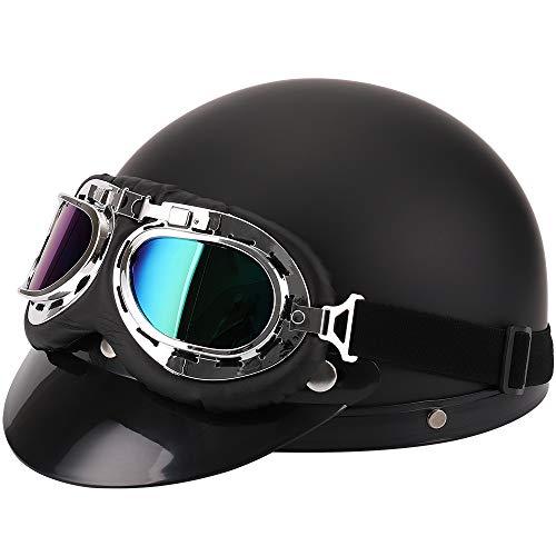 FuriAuto casco gafas motorista motocicleta crucero