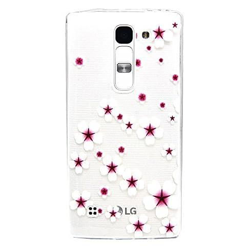 LG MAGNA C90 H502 Hülle,BONROY® Muster TPU Case SchutzHülle Silikon