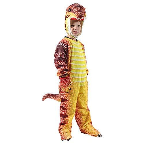 nisake T-Rex Dinosaurier Overall Triceratops Flugsaurier Tyrannosaurus Rex Stegosaurus Body Halloween Cosplay Outfit Kostüm für Kleinkinder Kinder - T Rex Kostüm Für Kleinkind