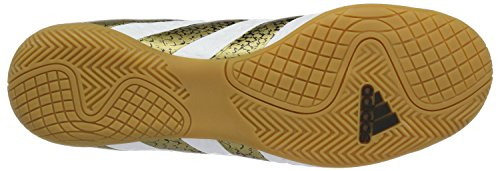 adidas Ace 16.4 In, Entraînement de football homme Blanc (Ftwr White/core Black/gold Metallic)