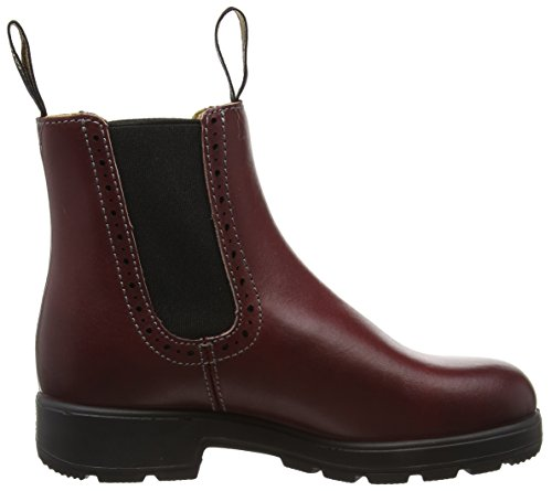 Blundstone Damen Classic Hole Punch Chelsea Boots Rot (Burgundy)