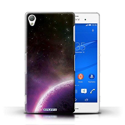 Kobalt® Imprimé Etui / Coque pour Sony Xperia Z3 / Nébuleuse Pourpre conception / Série Cosmos Planète Pourpre