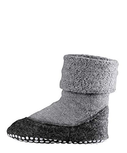 FALKE Damen Socken Cosyshoe rutschfeste Haussocken - 1 Paar, Gr. 39-40, grau, Stoppersocken mit Noppen