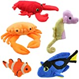 The Puppet Company - Finger Puppet Sets - Under the Sea Finger Puppet Set 2