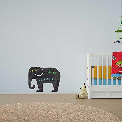 Elephant Chalkboard Vinyl Wall Art / Lavagna Vinile da Parete / Adesivi per la Casa