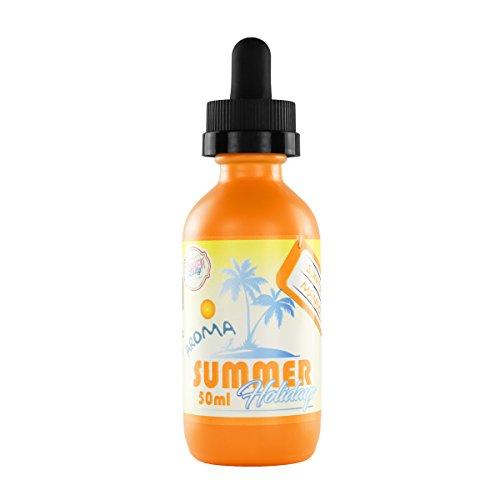 Dinner Lady e-Liquid Summer Holidays - Sun Tan Mango, Shake-and-Vape für Ihre e-Zigarette, 0.0 mg Nikotin, 50 ml
