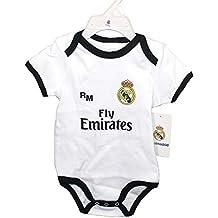 Real Madrid FC Body Niños - Producto Oficial Primera equipación 2018/2019 - Personalizable -