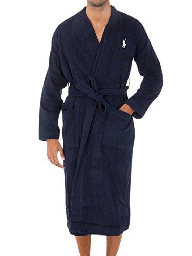 Polo Ralph Lauren Herren Robe S/3XL Kimono, Blau (Cruise Navy 001), Medium (Herstellergröße: S/M) (Polo Ralph Lauren 3xl)