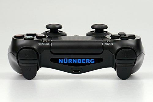 "PS4 Controller Light Bar LED Decal Aufkleber \""Nürnberg\"""