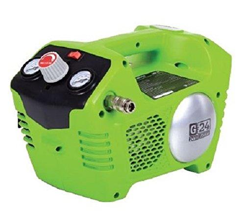 Preisvergleich Produktbild Greenworks 24V Akku-kompressor 2L, 8bar, Lithium-Ionen (ohne Akku und Ladegerät) - 4100302
