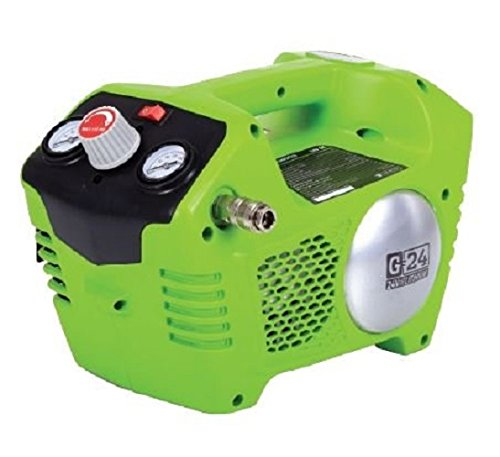 Preisvergleich Produktbild Greenworks Tools 4100302 Akku-kompressor 2L, 8bar, 24V Li-ion (ohne Akku und Ladegerät)