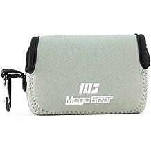 MegaGear ''Ultra Light'' Funda Bolsa Protector Neopreno Cámaras para Samsung WB350F (Gray)