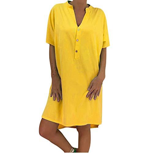 g Guest Dress v Neck Summer Dress for Women Dress Curvy Dress lace Dress for Women Dress for Damen ()